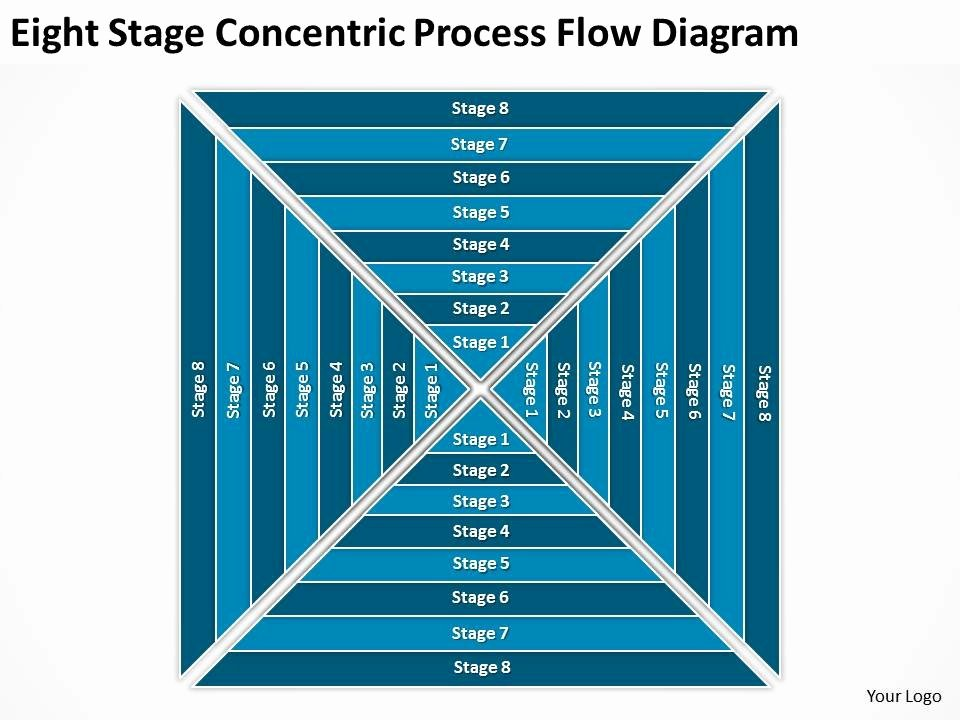 Business Use Case Diagram Example Eight Stage Concentric