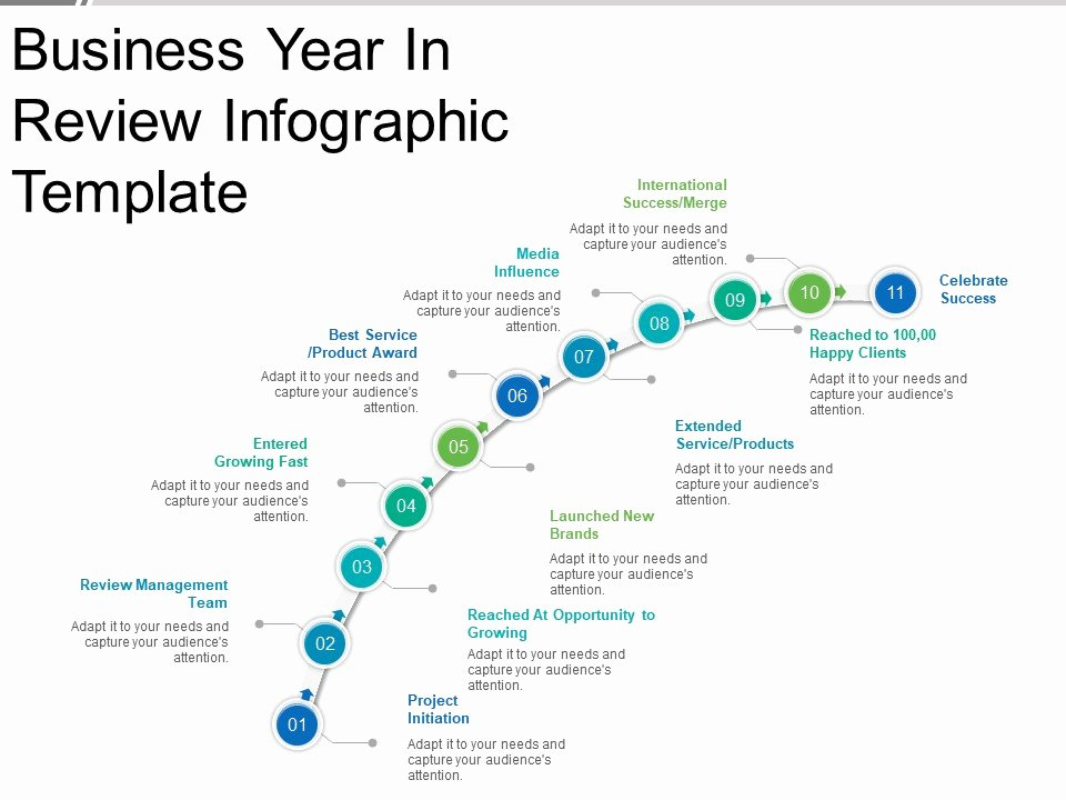 Business Year In Review Infographic Template Good Ppt