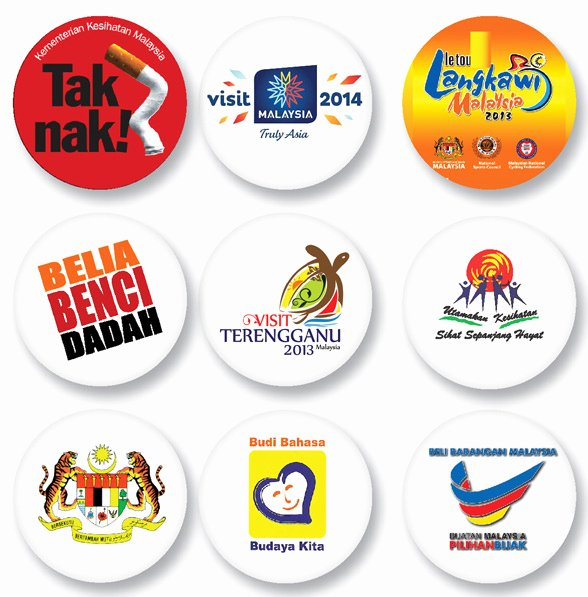 Button Badge Design Idea