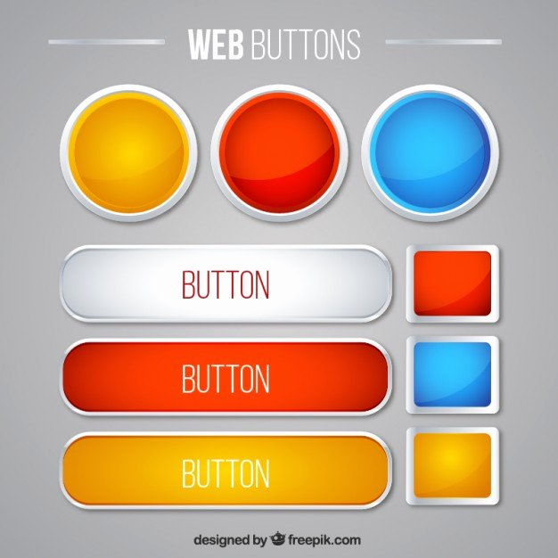 Button Vectors S and Psd Files