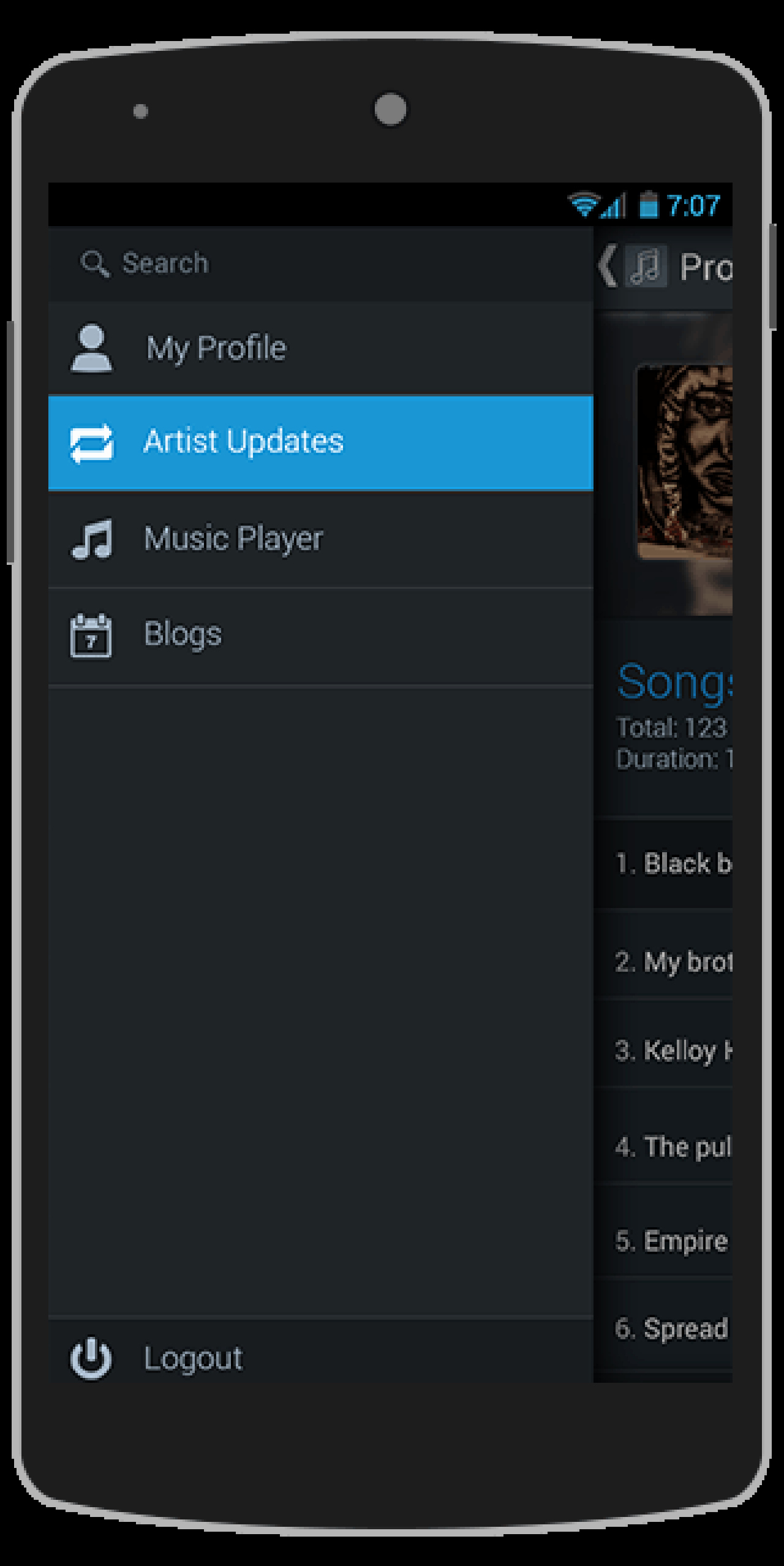 Buy Bandmate android App Template Music