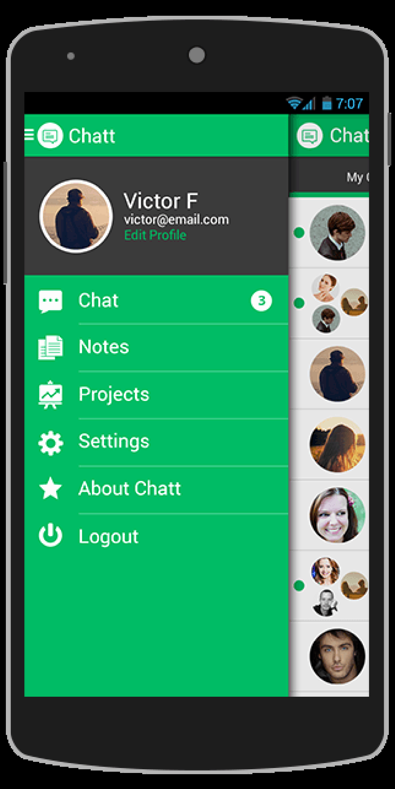 Buy Chatt android App Template Chat