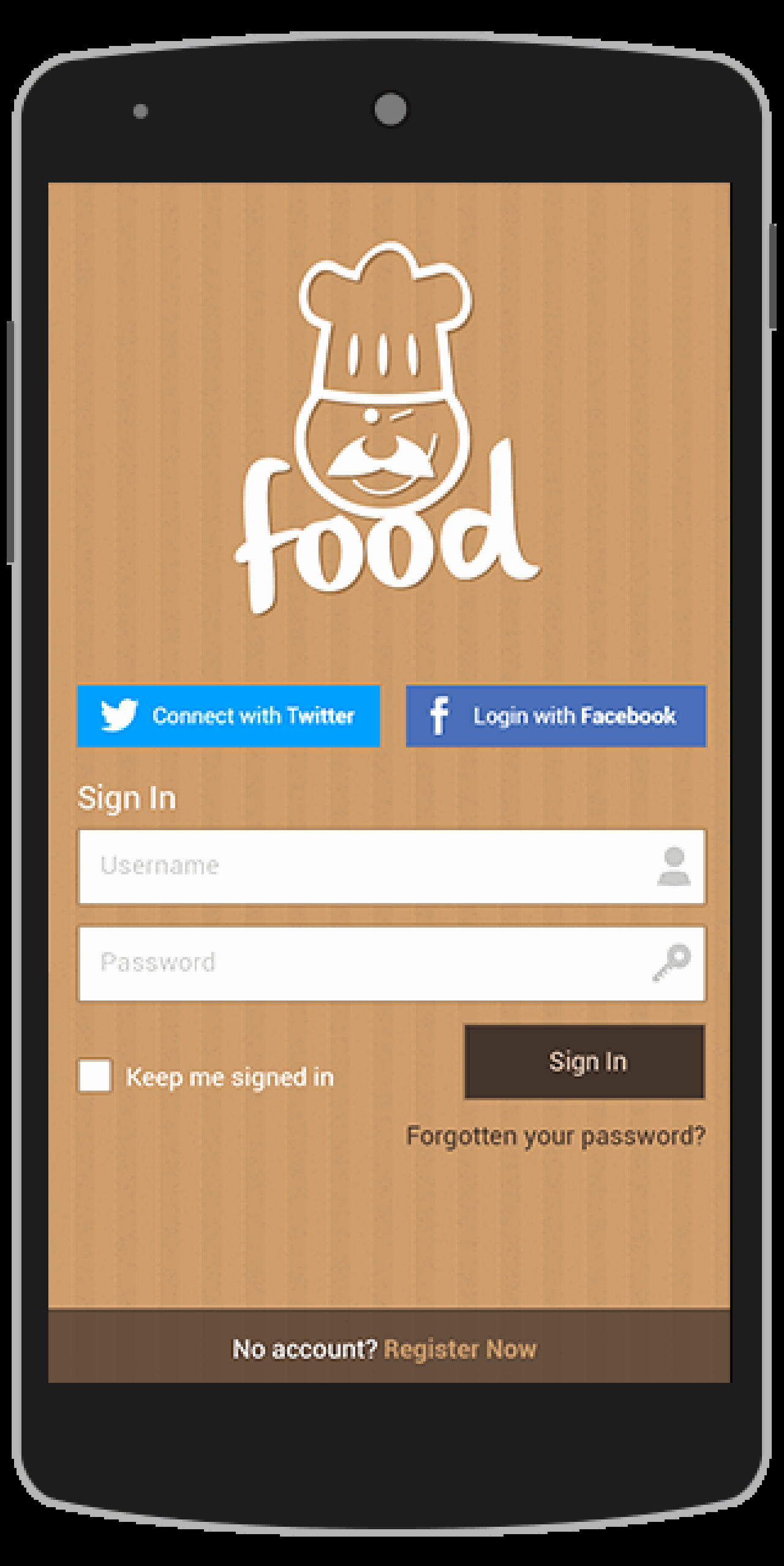 Buy Food android App Template Food&drink