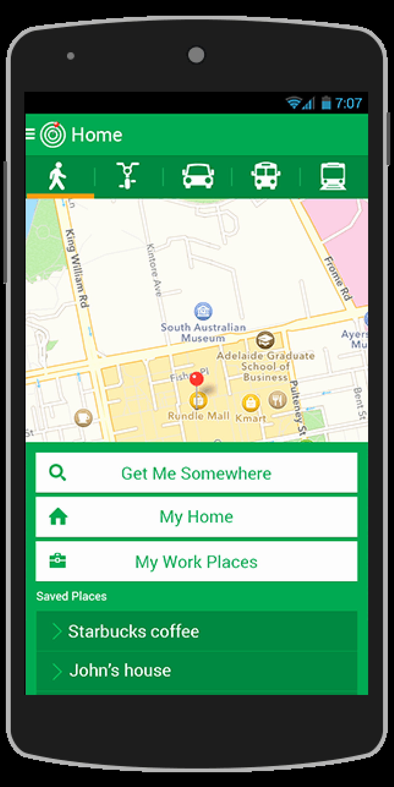 Buy Mapit android App Template Navigation