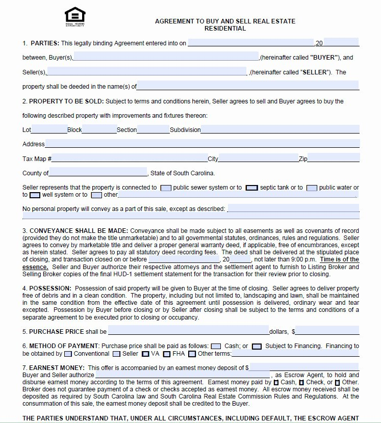 Buy Sell Agreement Template Real Estate Templates