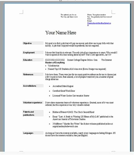 By Step How to Do A Resume for A Job Step Nogodis Blog