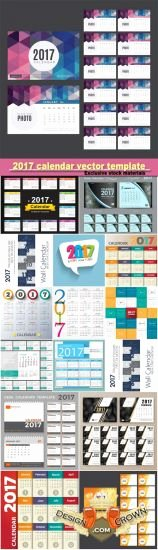 calendar for photoshop 2017 template