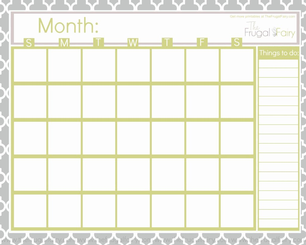Calendar Printable Gallery Category Page 1