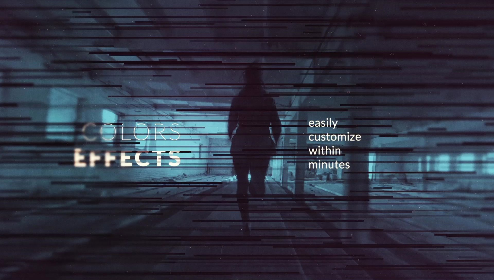 Calibrate Monochrome Title Sequence after Effects Template