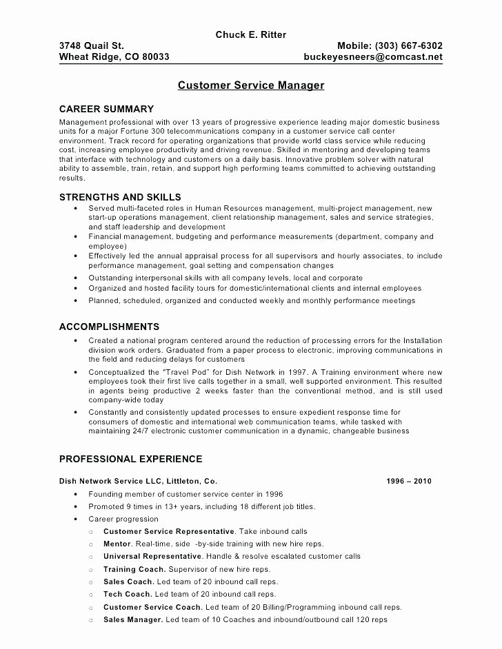 Call Center Resume Inbound Sales Representative Call