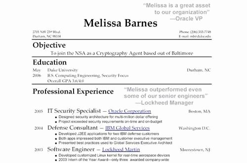 Call Center Resume Samples for Fresh Graduates Sample