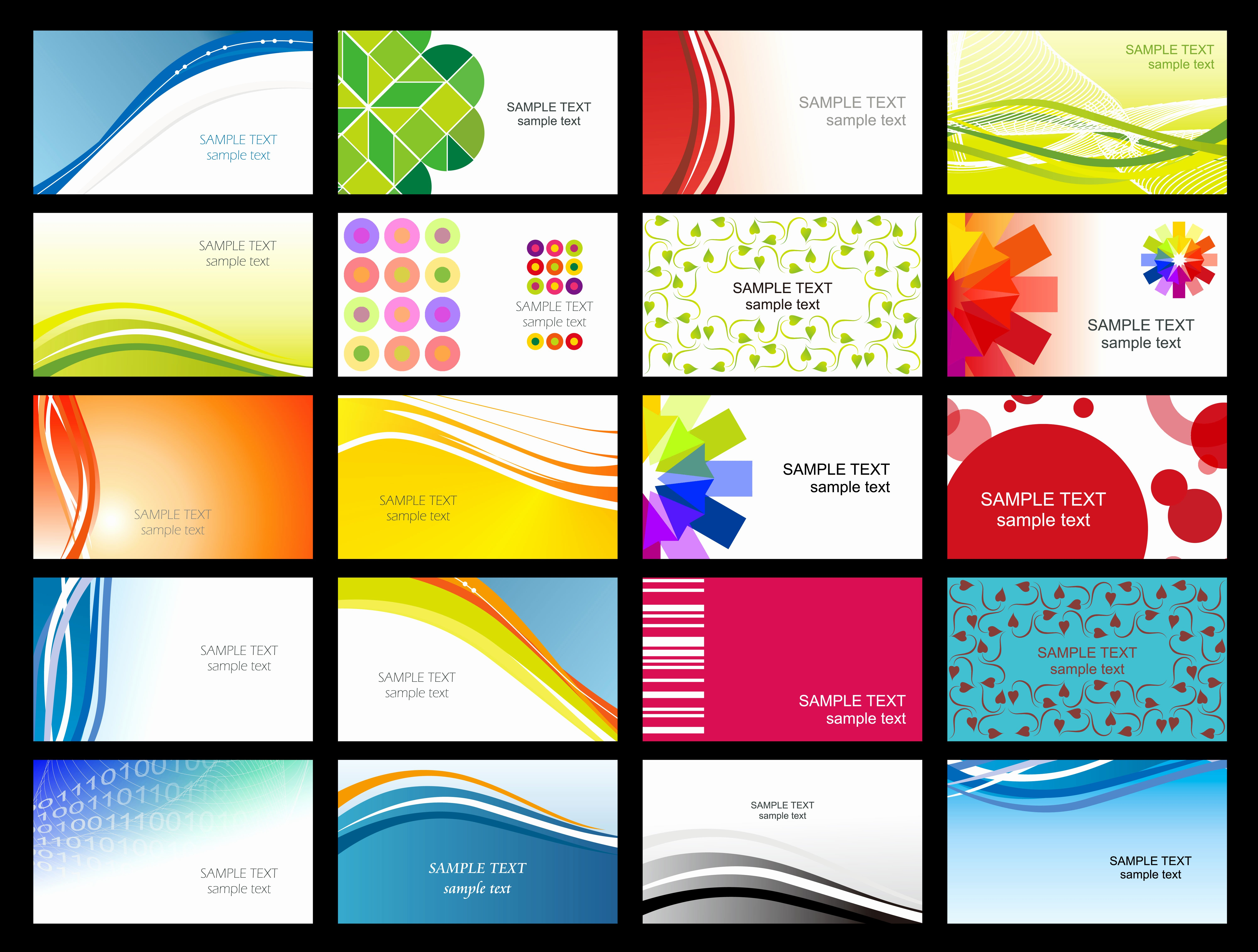 Calling Card Template Free Download Beautiful Template