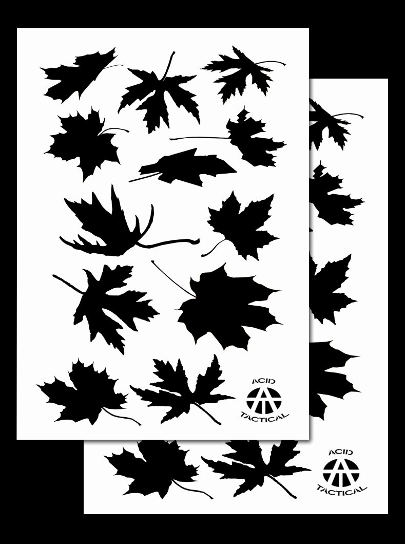 Camouflage Spray Paint Stencils Many Camo Stencil