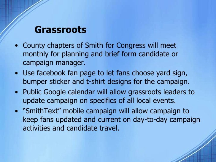 Campaign Plan Template 7 13 10