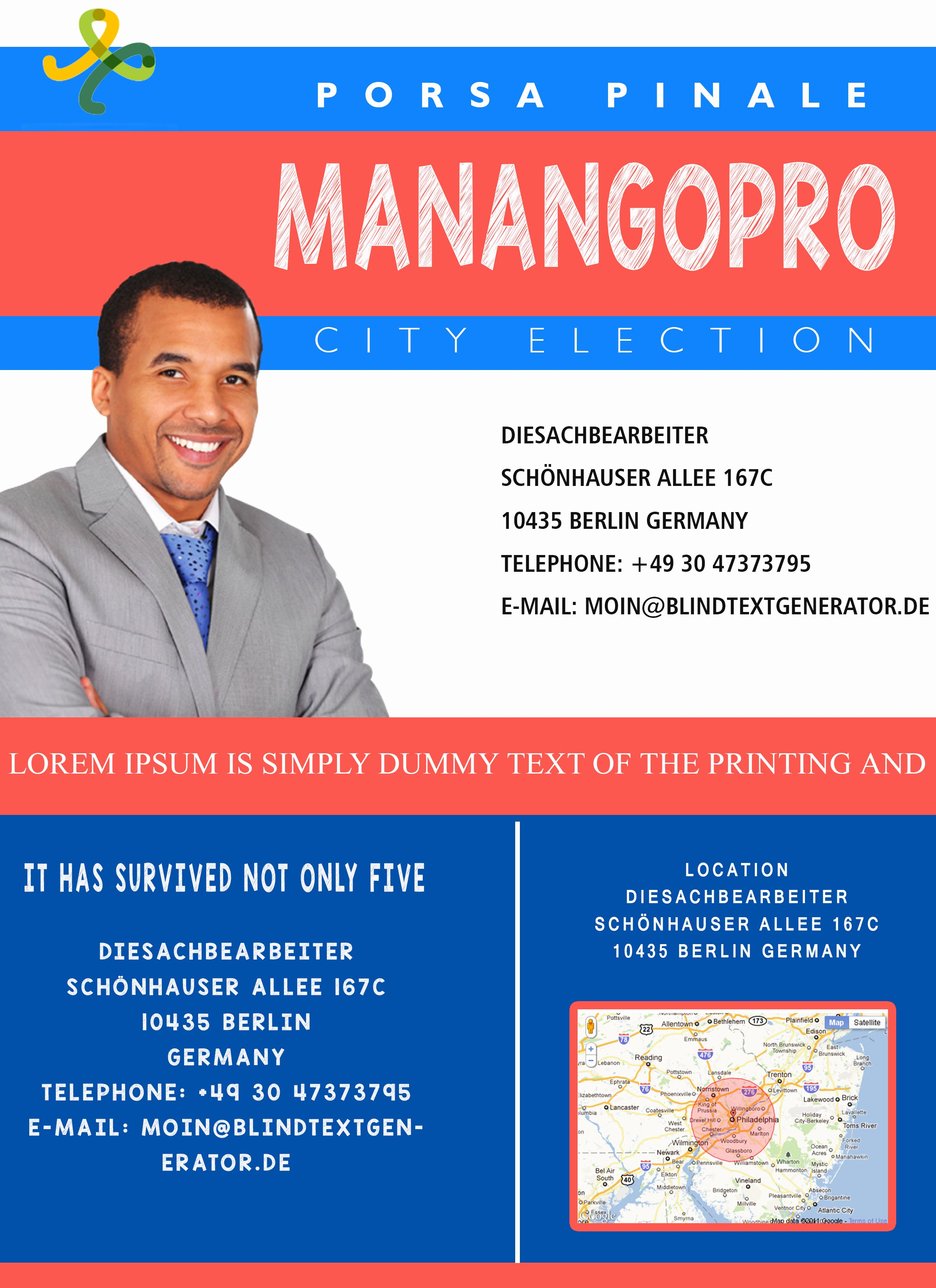 Campaign with these Elegant Free Political Campaign Flyer