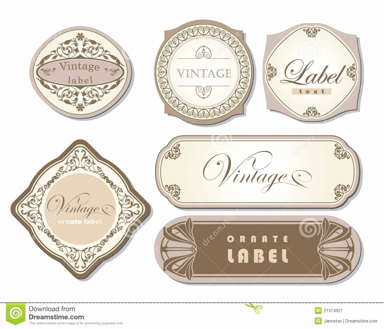 Candle Label Templates Free Google Search