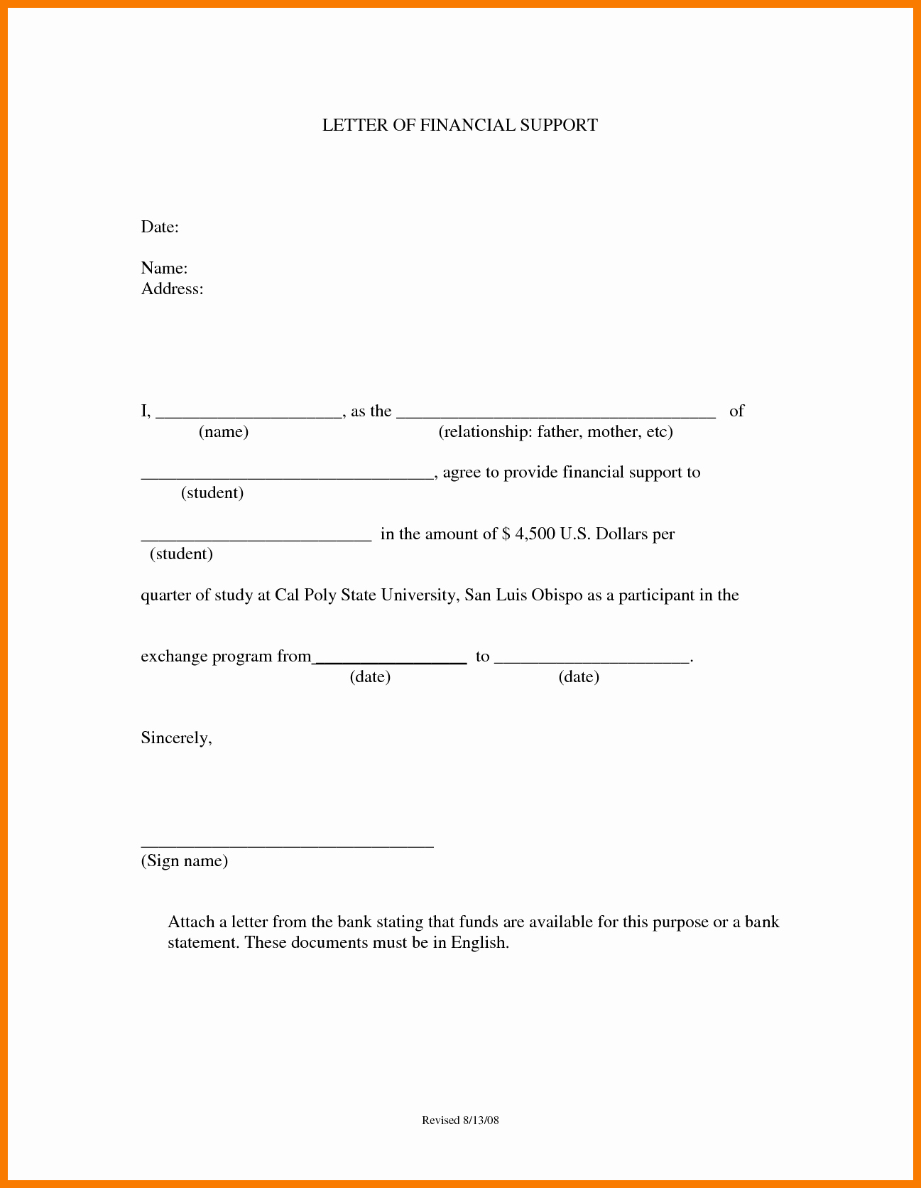 Capability Statement Template Word Document