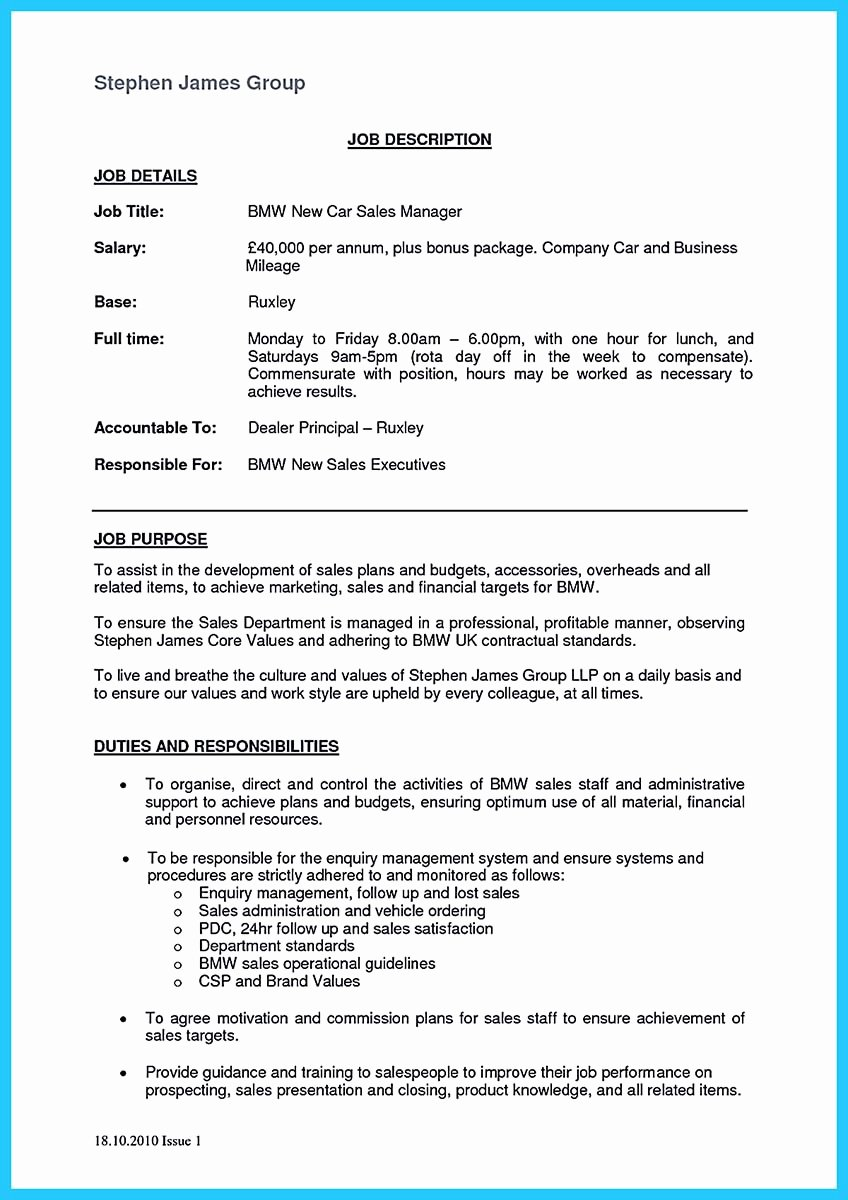 Car Salesman Resume Driverlayer Search Engine