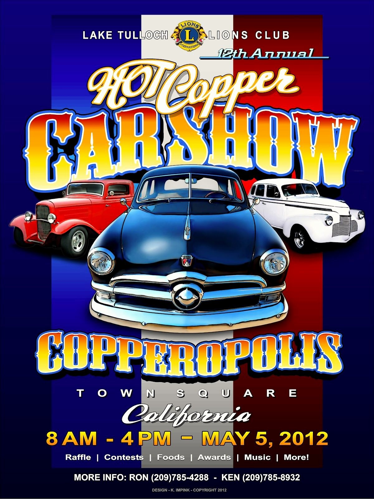 Car Show Hot Copper Copperopolis California May 5
