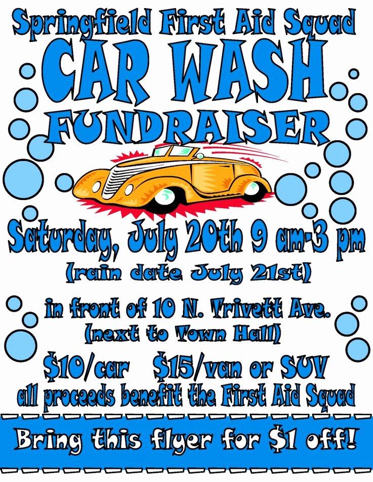Car Wash Flyer 2013 Fundraising Pinterest