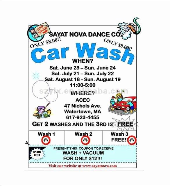 Car Wash Flyer 33 Free Psd Eps Indesign format