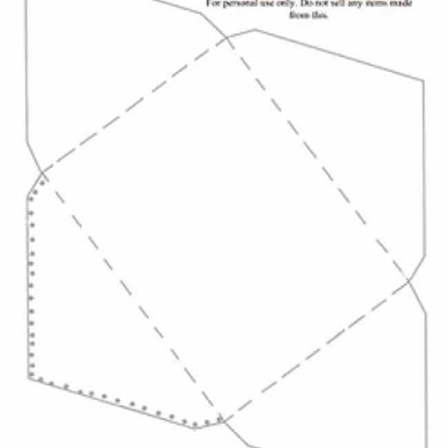Card Envelope Template Free Printable Gift