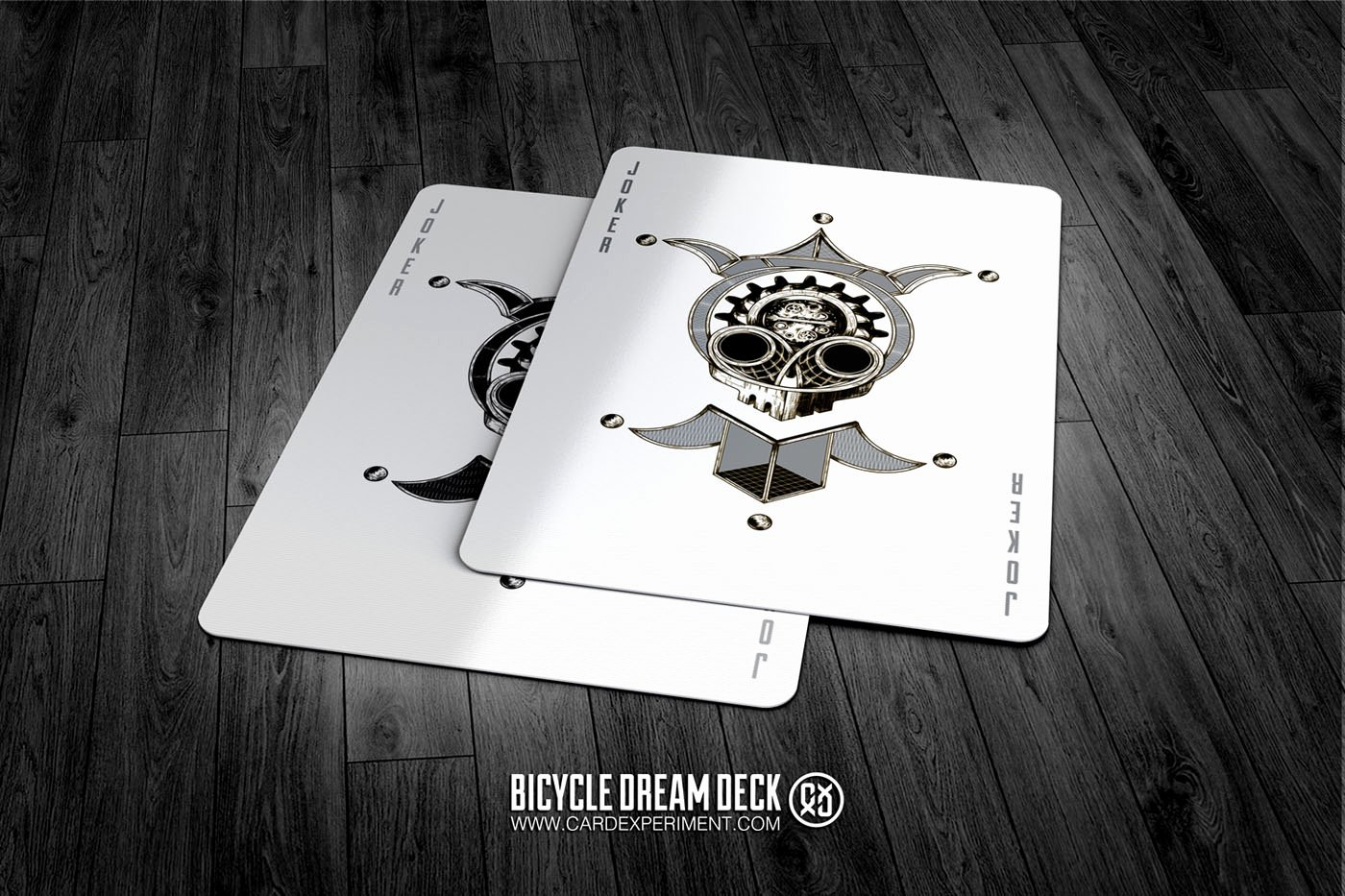 Card Experiment Bicycle Dream Playing Cards