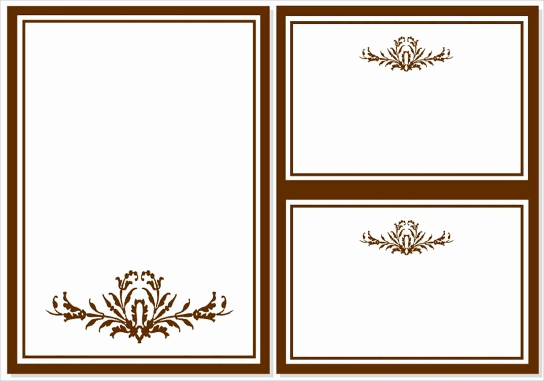 Card Template Blank Invitation Templates Free for Word