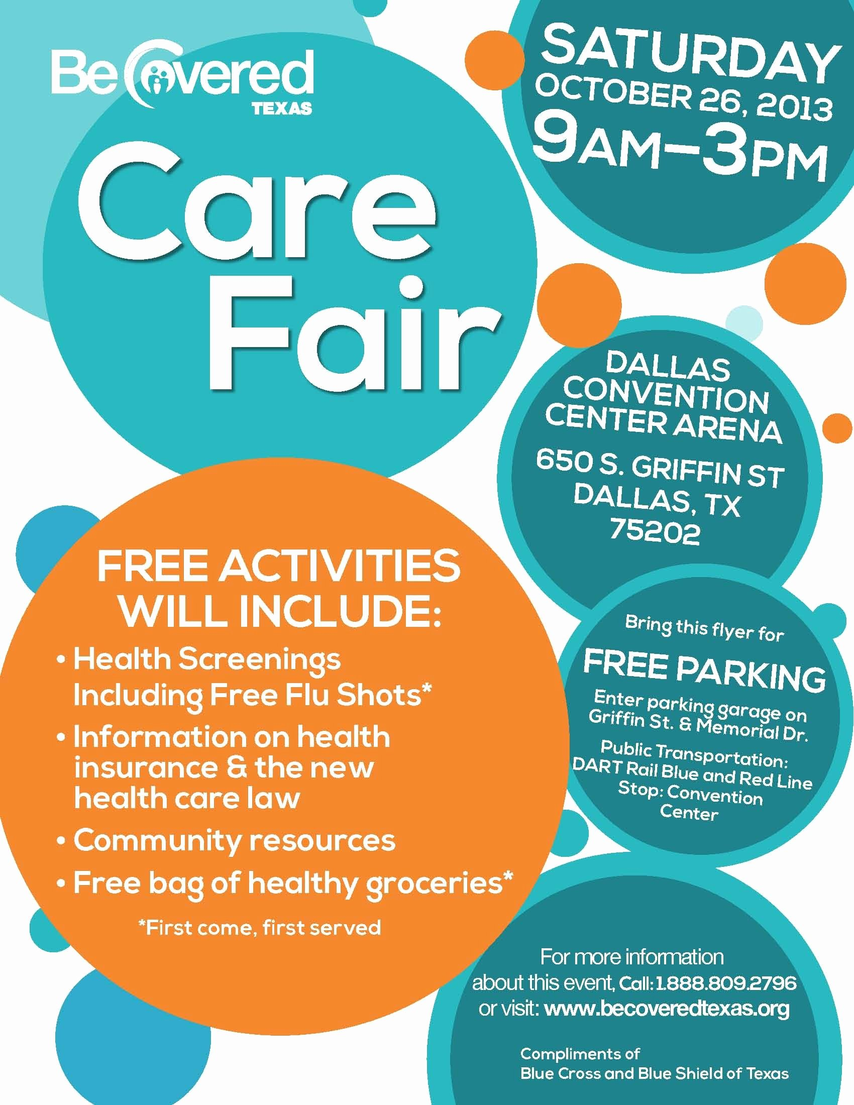 Care Fair Flyer Dallas English 1700×2200