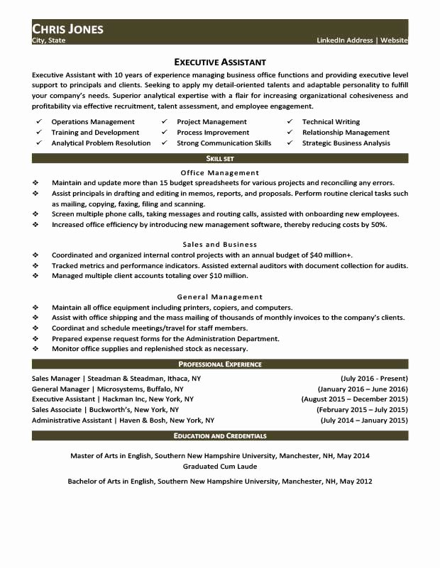 Career & Life Situation Resume Templates