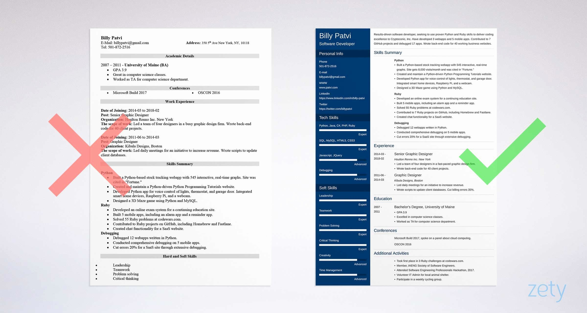 Career Change Resume Sample and Plete Guide [ 20 Examples]