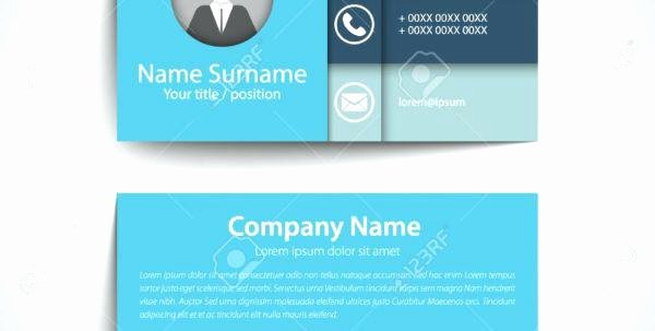 Career Networking Business Card Template Modern Simple Set