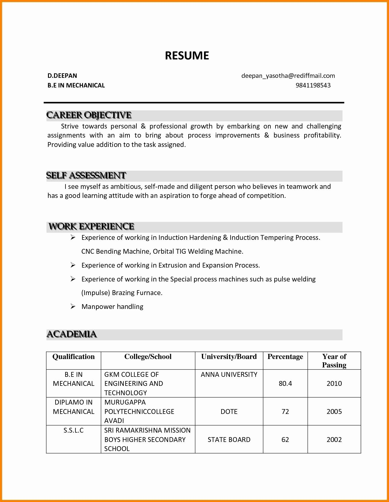 Career Objective Resume Template Sample Job Objectives for