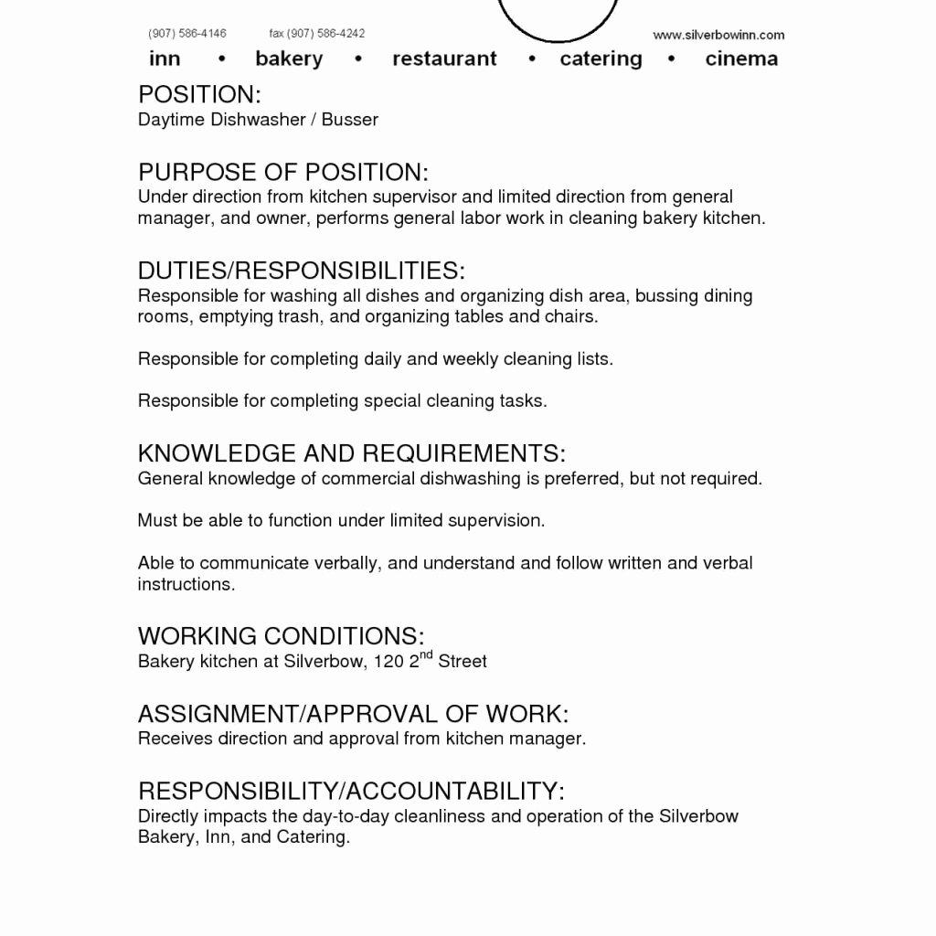 Caregiver Job Duties Resume