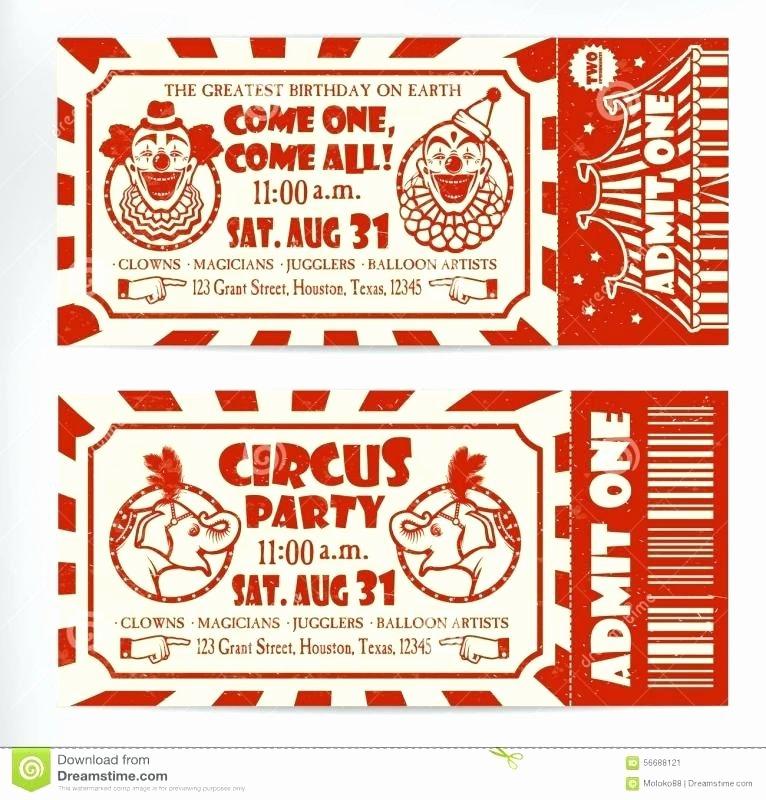 Carnival Tickets Template – Helenamontanafo