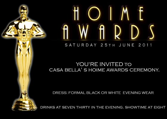 Casa Bella S Hoime Awards Ceremony Line Invitations