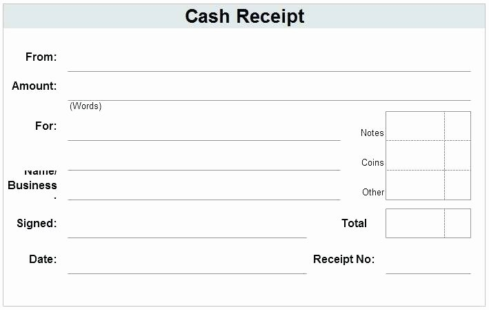 Cash Payment Receipt Template Free Paid In Full – Nerdcred