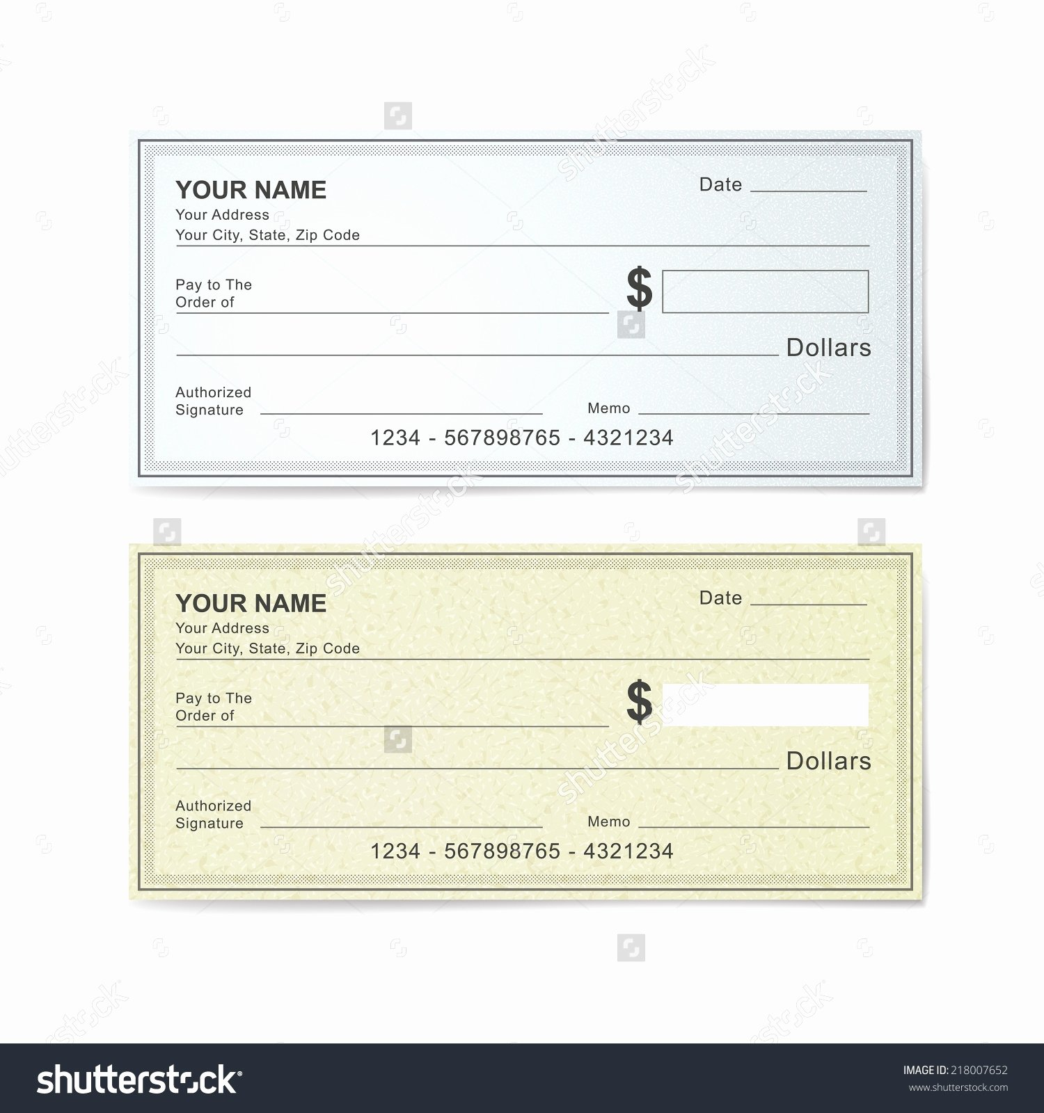 Cashiers Check Template Beepmunk