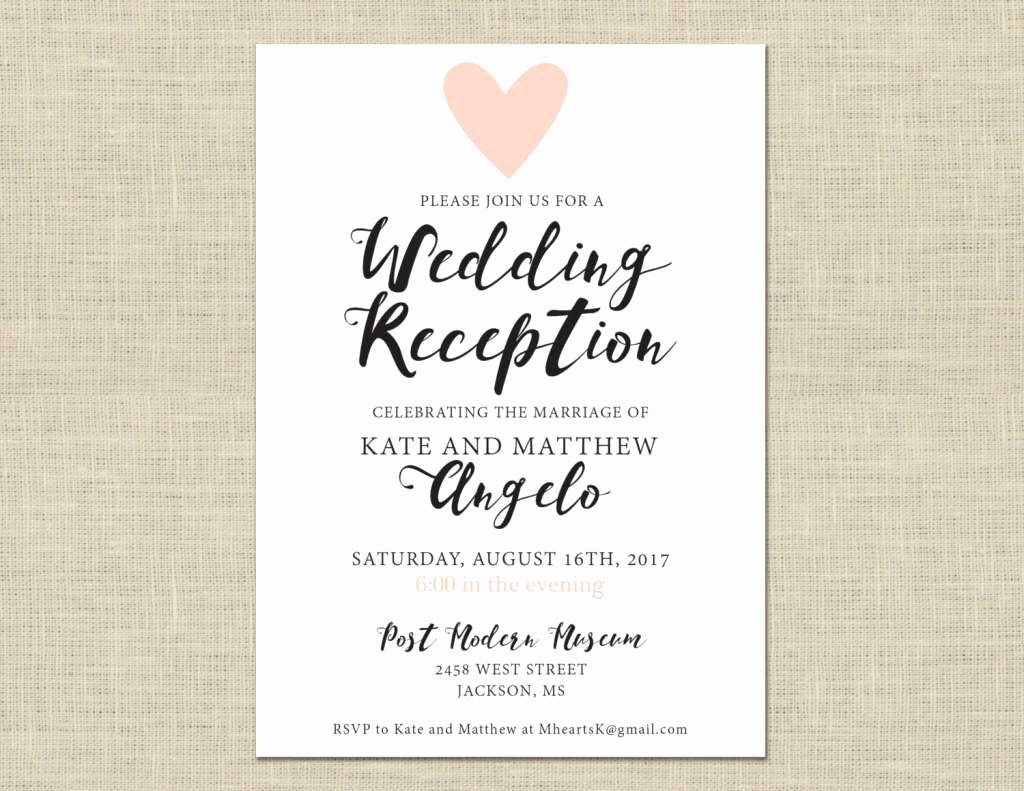 Casual Wedding Invitation Wording Casual Wedding