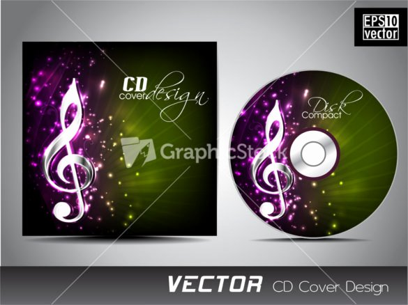 Cd Cover Template 51 Free Psd Eps Word format
