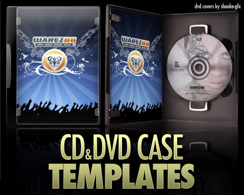 Cd Dvd Case 7 Free Great Looking Shop Templates