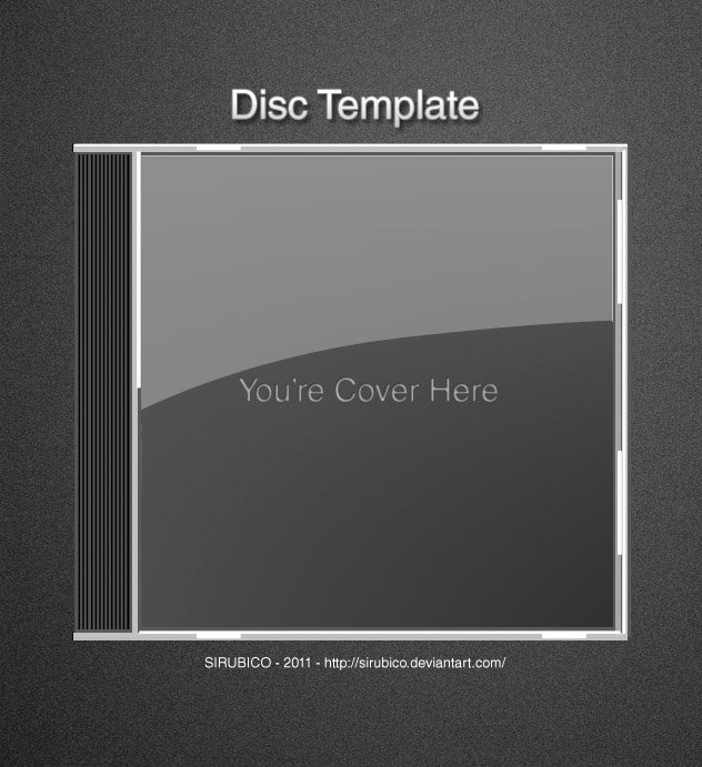 Cd Icon Template by Sirubico On Deviantart