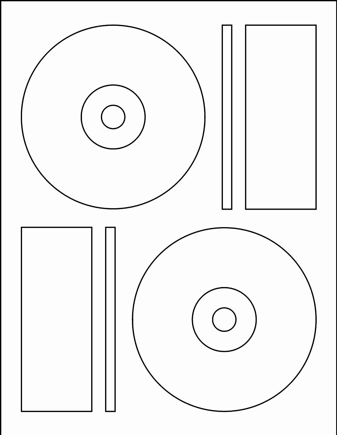 Cd Label Template Memorex Word Templates Resume