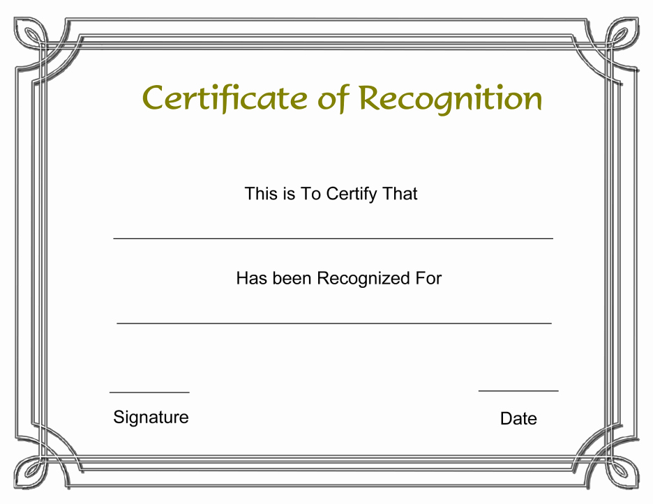 Certificate Pletion Template Word Features Award