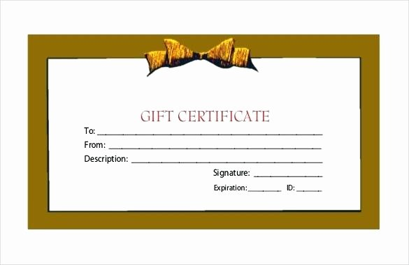Certificate Template Fitness Classic Image Gift Free