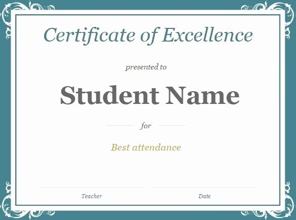 Certificate Template for Google Slides