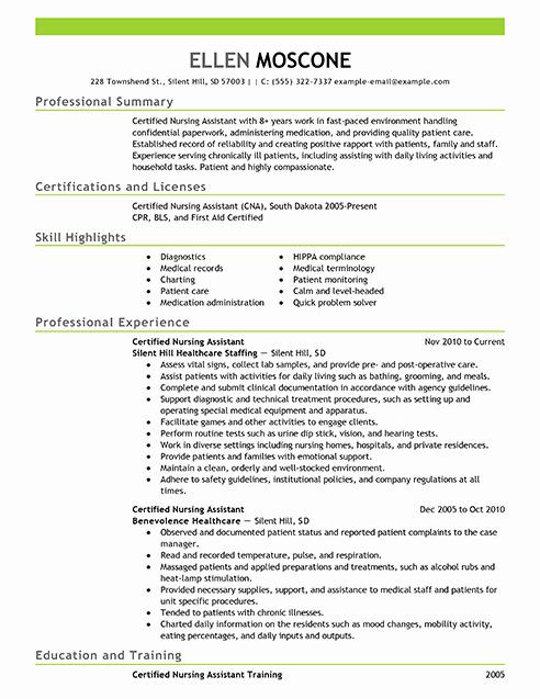 Certified Pharmacy Technician Resume Sample