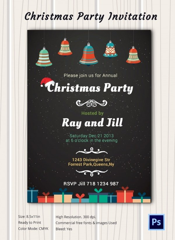 Chalkboard Invitation Template 45 Free Jpg Psd
