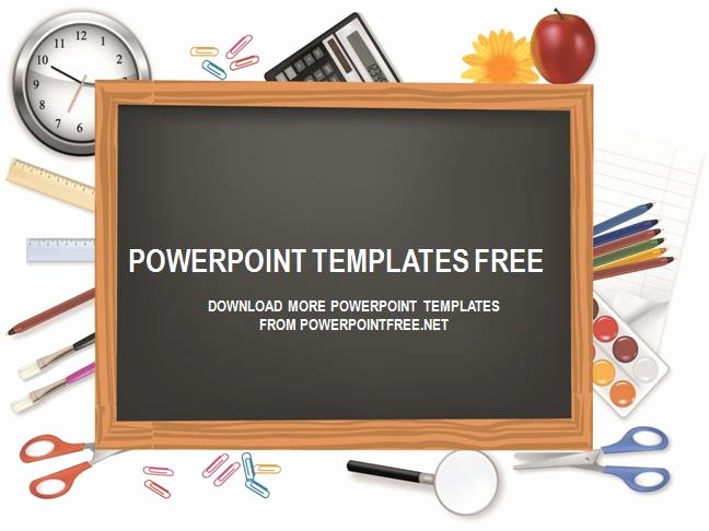 Chalkboard Powerpoint Template Free Download