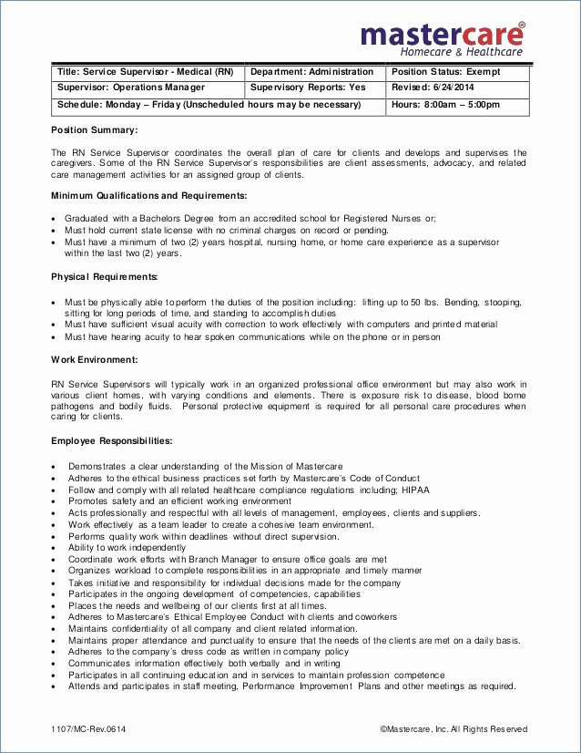 Charge Nurse Resume – Igniteresumes